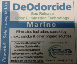 Gas Release Odour Elimination Technology