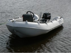 Whaly 310 safety boat